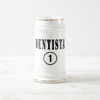Italian Dentists : Dentista Numero Uno Beer Stein