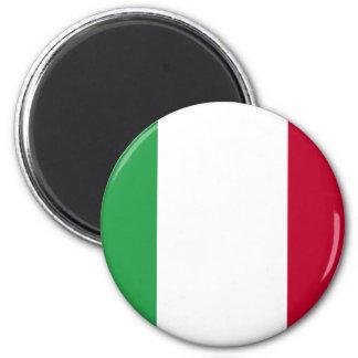 ITALIAN FLAG 6 CM ROUND MAGNET