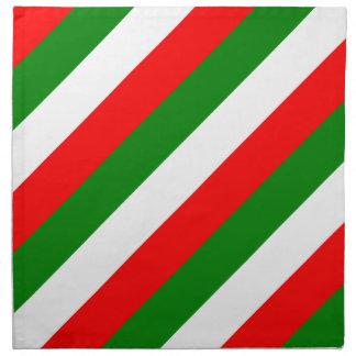 Italian Flag of Italy bandiera d'Italia Tricolore Napkin