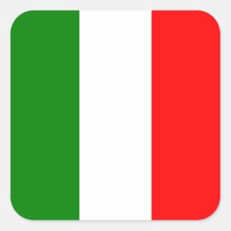 Italian Flag of Italy bandiera d'Italia Tricolore Square Sticker