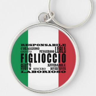 Italian Godsons : Qualities Key Chain