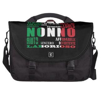 Italian Grandfathers : Qualities Laptop Computer Bag
