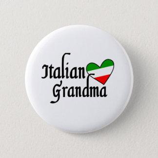 Italian Grandma T-shirt 6 Cm Round Badge