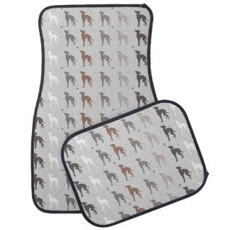 Italian Greyhound Car Vehicle Floor Mats Iggy
