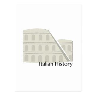 Italian History Postcard