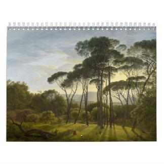 Italian Landscape Umbrella Pines by Hendrik Voogd Calendars
