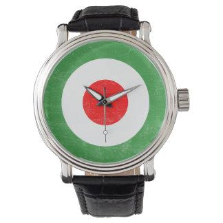 Italian Mod Target Strap Watch