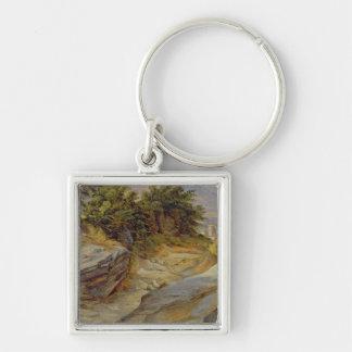 Italian Mountain Landscape, c.1824 Key Ring