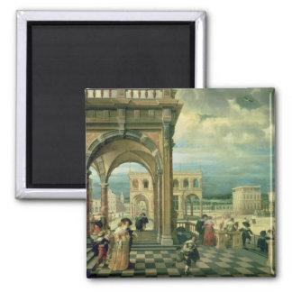 Italian Palace, 1623 Magnet