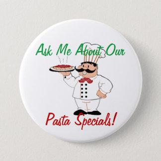 Italian Resturant Specials 7.5 Cm Round Badge