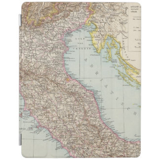 Italien nordliche Halfte, Map of North Italy iPad Cover