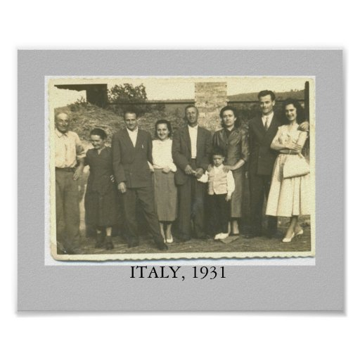 ITALY. 1931 POSTER