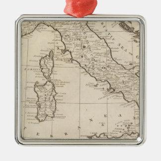 Italy, and Sardinia Christmas Ornament