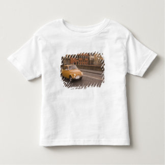 Italy, Florence. Fiat 800 Rally crosses Arno Toddler T-Shirt