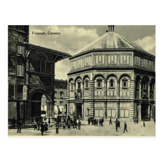Italy, Florence, Firenze, 1908,Firenze, Duomo Postcard