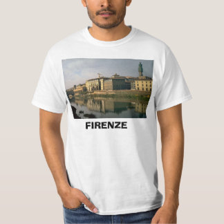 Italy, Florence, Firenze, River Arno T-Shirt