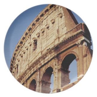 Italy,Lazio,Rome,The Colosseum at sunset Plate