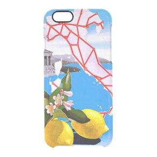 Italy Lemon Roman Temple Flower Clear iPhone 6/6S Case