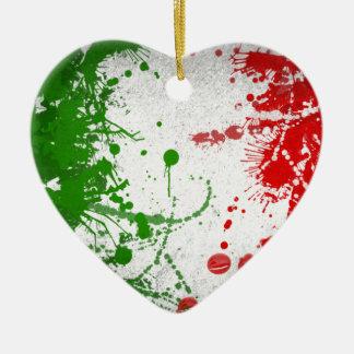 Italy line christmas ornament