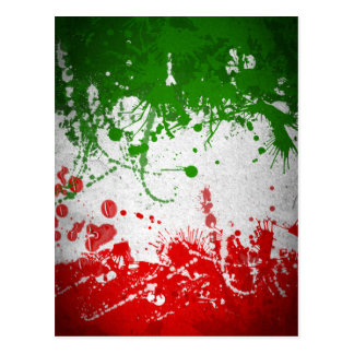 Italy line postcard