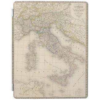 Italy Map iPad Cover