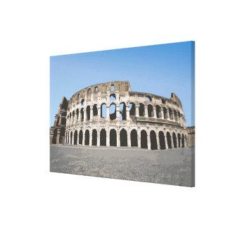 Italy, Rome, Antique Roman amphitheater's, Canvas Prints