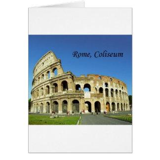 Italy, Rome, Roman Coliseum (St.K.) Card