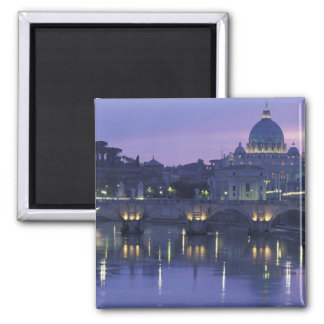 Italy, Rome St. Peter's and Ponte Sant Angelo, Magnet
