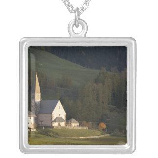 Italy, Trentino - Alto Adige, Bolzano province, Silver Plated Necklace