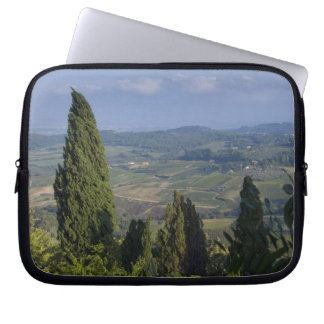 Italy, Tuscany, Montepulciano. View of the Laptop Sleeve