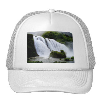Italy Waterfall Mesh Hats