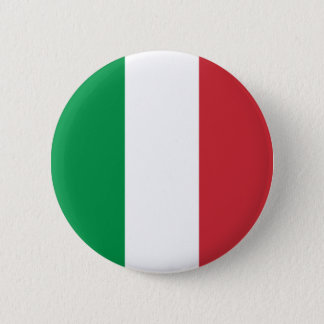 Italy's Flag 6 Cm Round Badge