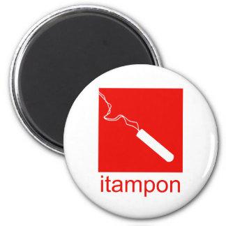 itampon 6 cm round magnet