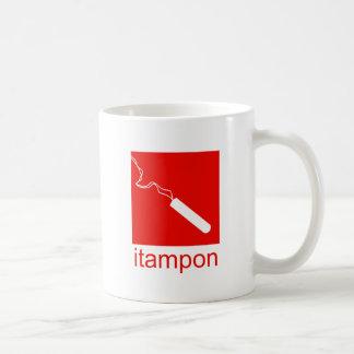 iTampon Basic White Mug