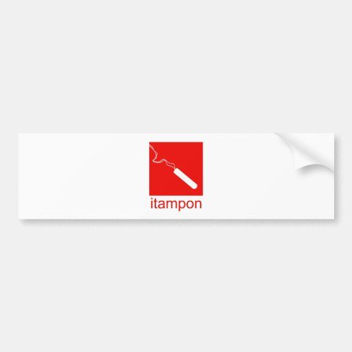 itampon bumper stickers
