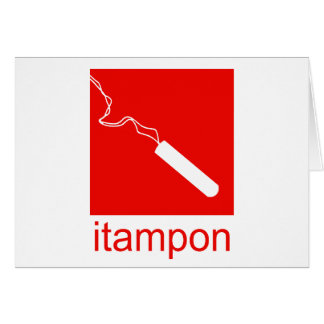 itampon greeting card