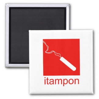 iTampon Refrigerator Magnet