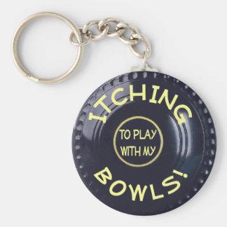 ITCHING BOWLS! KEY RING