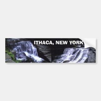 ITHACA NEW YORK bumpersticker Bumper Stickers