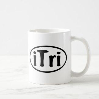 iTri Oval Coffee Mug