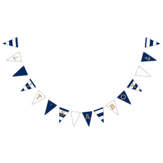 It's a Boy   Nautical Baby Shower Bunting