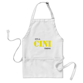 IT'S A CINI THING STANDARD APRON