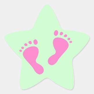 Its a Girl - Baby Shower, Newborn Star Sticker