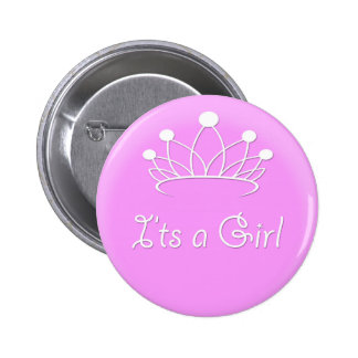 It's a Girl Pinback Button