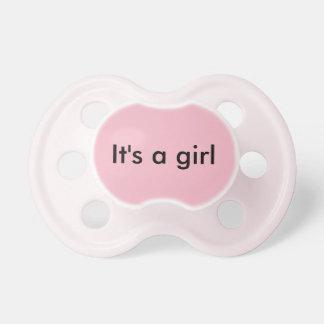 It's a Girl Pacifier