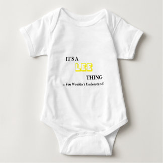It's A LEE Thing! You Wouldn't Understand Baby Bodysuit