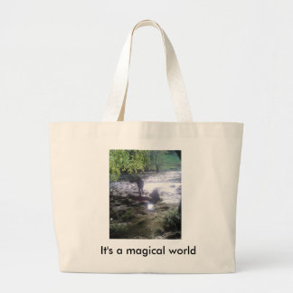 It's a magical world tote bag with stream