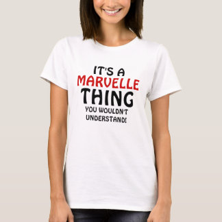 It's a  Marvelle thing you wouldn't understand! T-Shirt