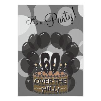 It's A Party | DIY Name | 60th Birthday Card