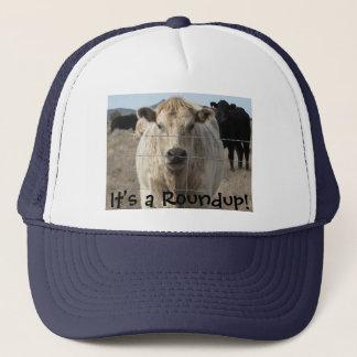 It's a Roundup! Cattle -  Western Novelty Trucker Hat